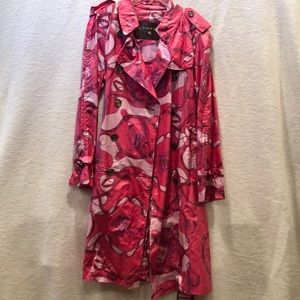 🎉HP🎉Limited Ed. Burberry Hot Pink Raincoat!😱